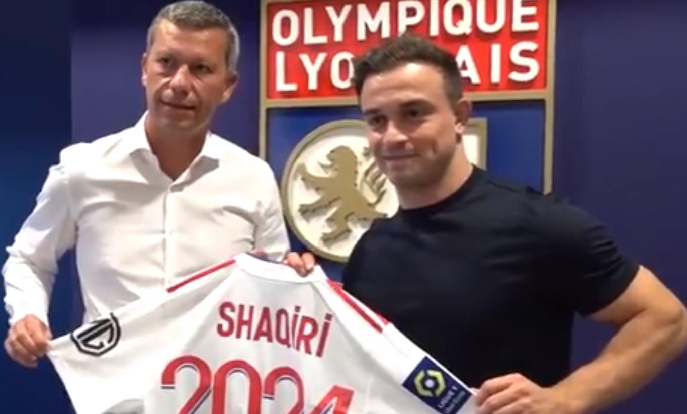 官方:沙奇里转会里昂 转会费总价1100万欧