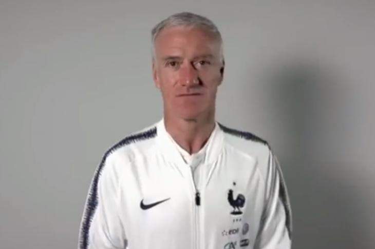 法国足协主席确认:德尚继续执教法国 会带队参加明年世界杯