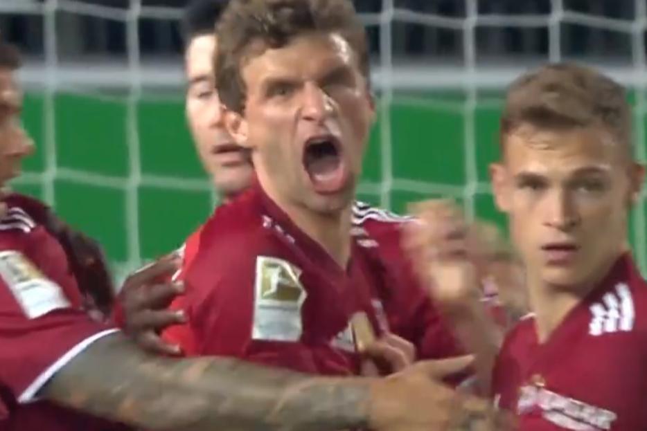 德甲-穆勒基米希建功帕瓦尔染红 十人拜仁3-1菲尔特
