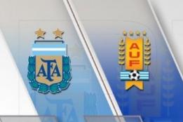 阿根廷VS乌拉圭数据:阿根廷控球率62% 射门次数23:10