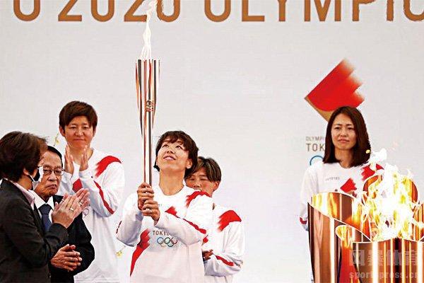 東京奧運圣火傳遞已經展開