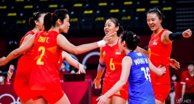 中国女排队员们