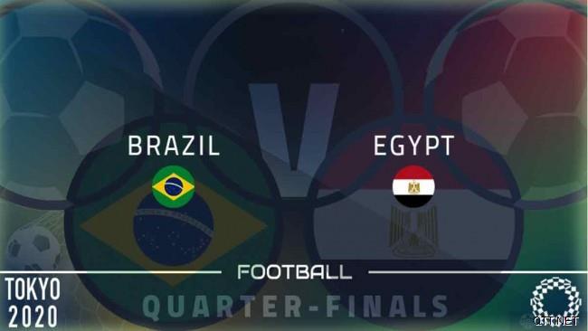 巴西国奥1-0埃及国奥战报