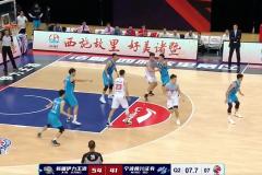 CBA常规赛新疆男篮109-79战胜宁波男篮 取得新赛季首胜
