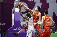 2018年雅加达亚运会小组赛中国男篮险胜菲律宾