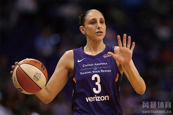 WNBA巨星戴安娜-陶乐西图片 女科比陶乐西图集