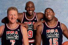 美国男篮梦之队图片 92年美国男篮梦一队