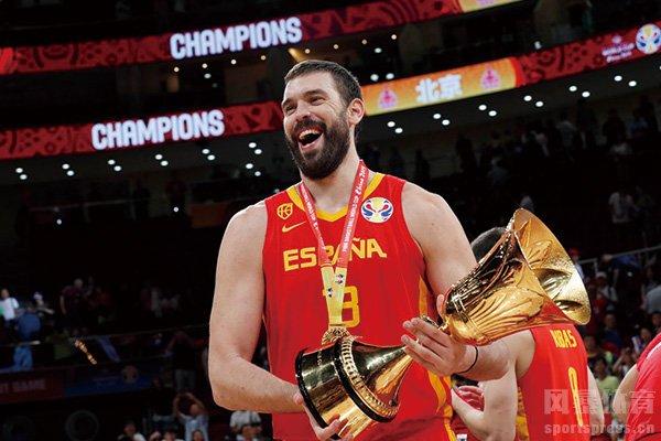 篮球世界杯决赛图集 西班牙击败阿根廷夺冠