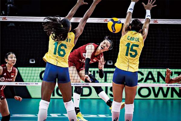 张长宁爆发 36分!帮助中国女排3-2击败巴西女排