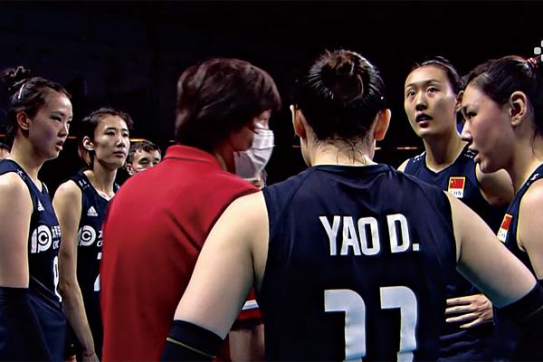 中国女排2-3不敌比利时女排!吞下三连败的苦果