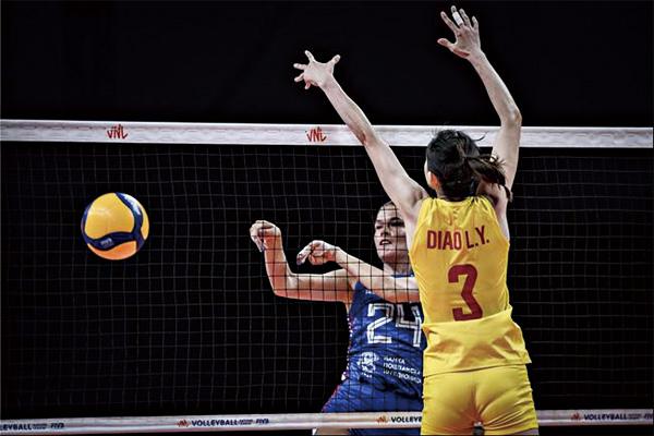 中国女排1-3不敌塞尔维亚女排!遭遇世界女排联赛四连败