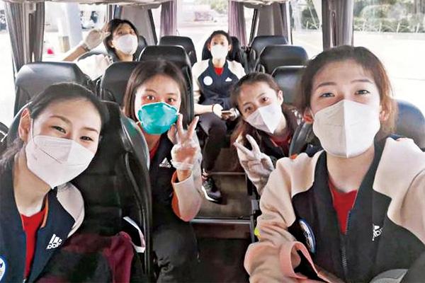 朱婷率领中国女排六大主力正式回归球队!最新公布的15人女排名单