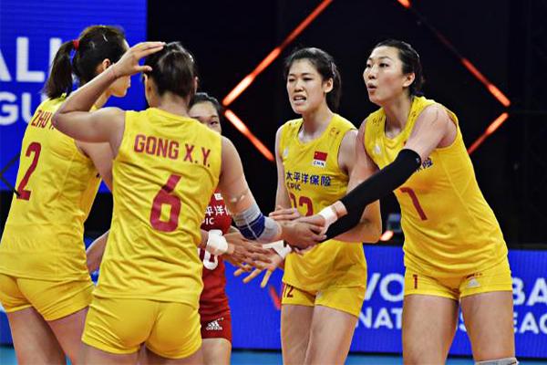 中国女排3:0击败荷兰女排!六名主要队员都出来帮助女排赢得了两连胜
