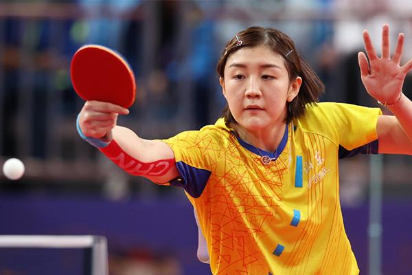 陈梦无缘全运会乒乓球女单决赛!