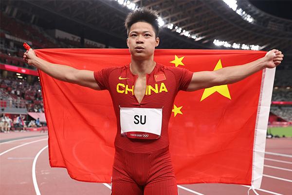 苏炳添:巴黎奥运还远 努力跑到35岁