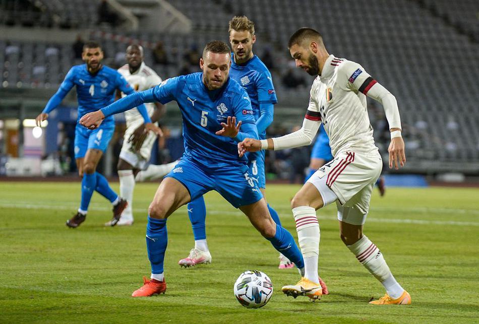 欧国联冰岛Vs比利时