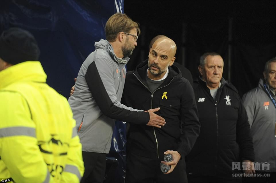 欧冠:利物浦2-1曼城晋级4强 送对手双线三连败