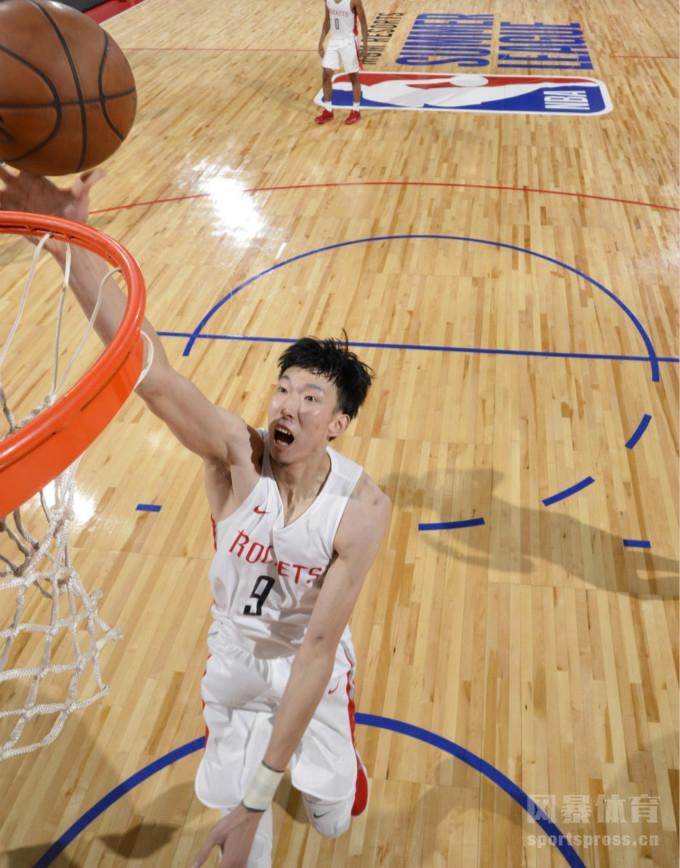 NBA夏联亚洲德比:周琦高效17分7板3帽力压渡边雄太