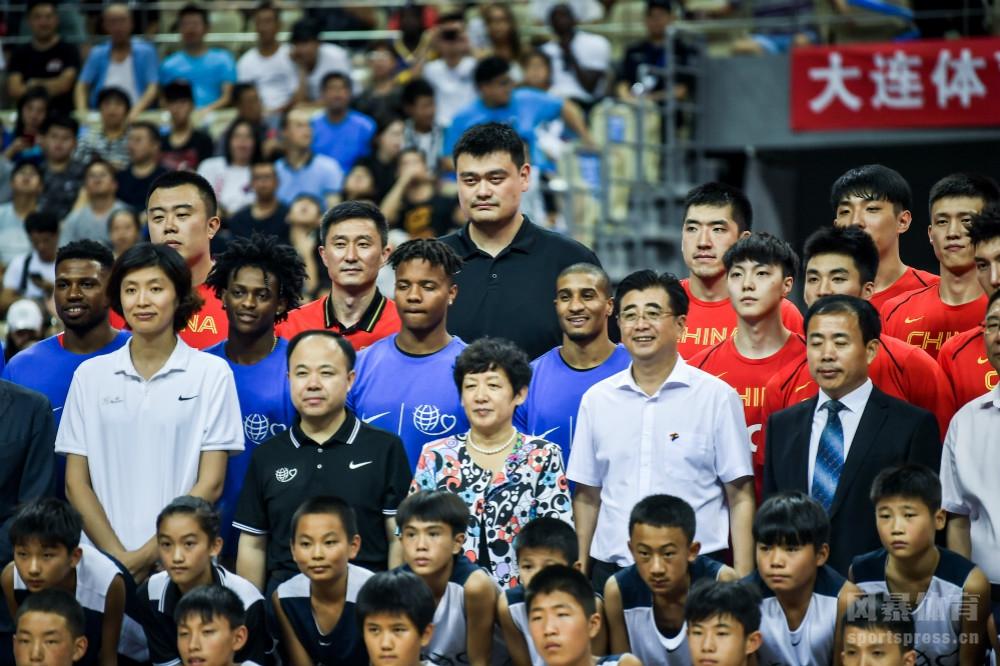 2018姚基金慈善赛:中国男篮明星队114-97美国明星队