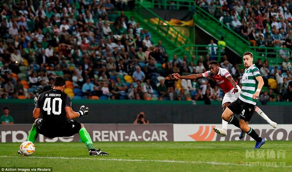 黑贝破门奥巴梅杨失单刀 阿森纳1-0客胜葡萄牙体育