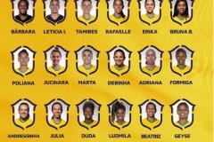 2021年东京奥运会巴西女足名单 35岁的玛尔塔与富米携手参加选举