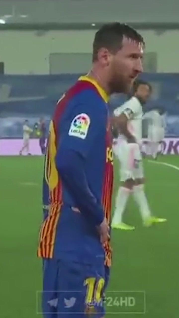 """马德里""""寒夜""""!梅西被镜头捕捉到身体微颤"""