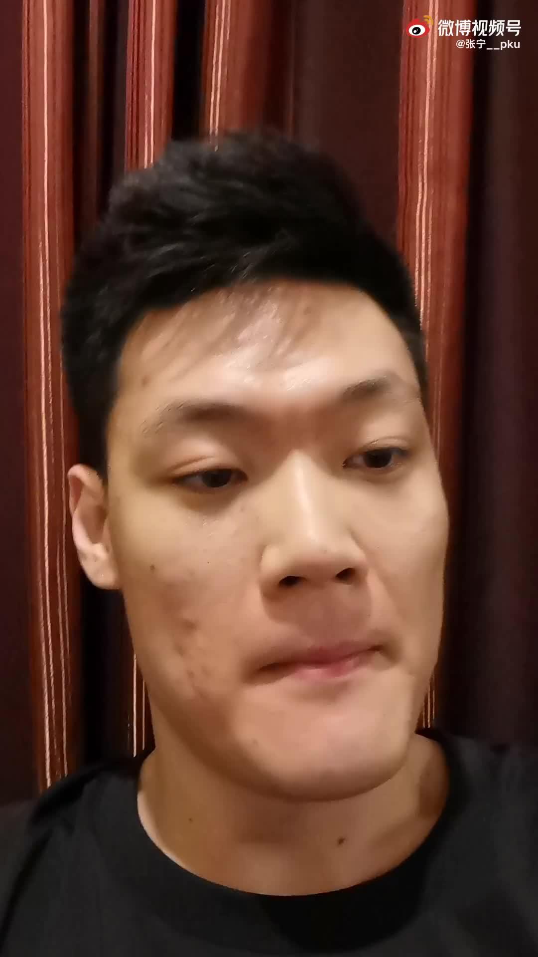张宁发视频:自己第一年CBA菜鸟赛季结束了