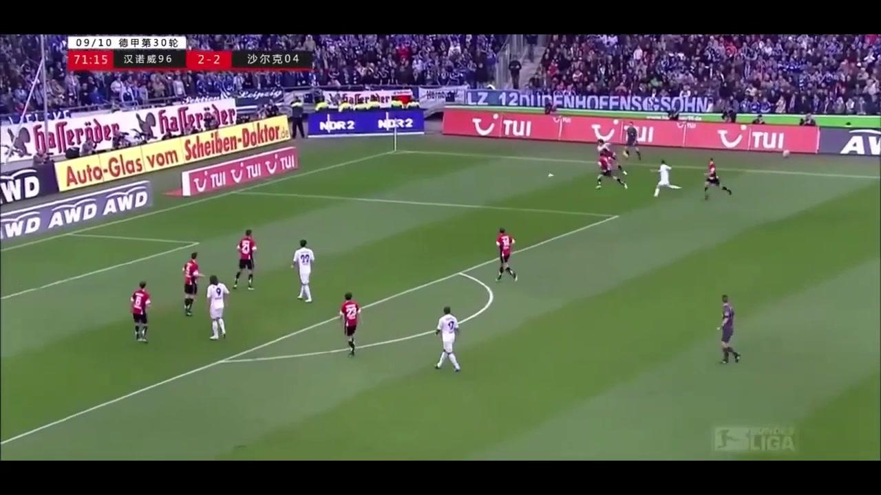 这也许是蒿俊闵在德甲踢得最好的一场比赛