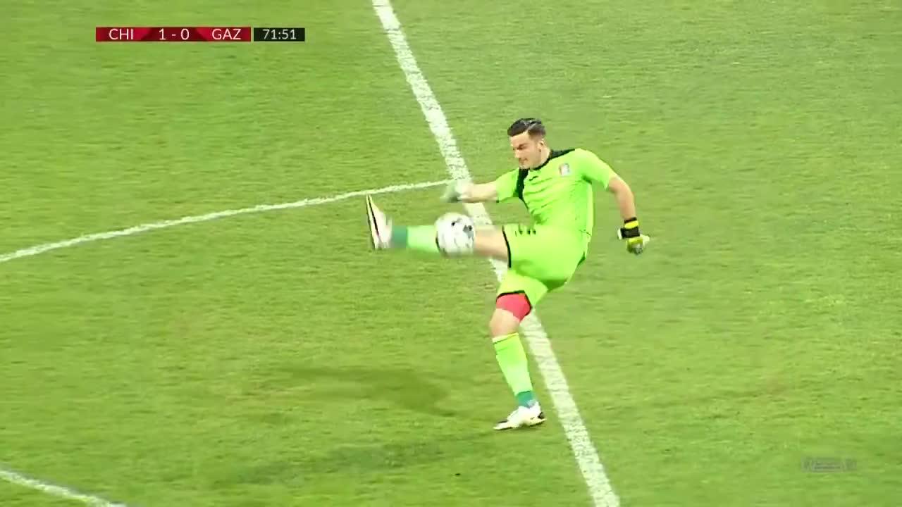 找个厂上班吧!罗马尼亚联赛门将上演超级超级失误