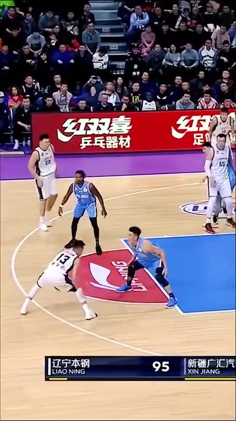 当今亚洲第一控卫 郭艾伦这些动作是NBA级别的