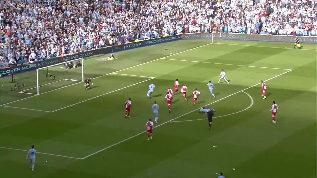 9年前的今天-阿奎罗绝杀QPR 曼城夺首个英超冠军