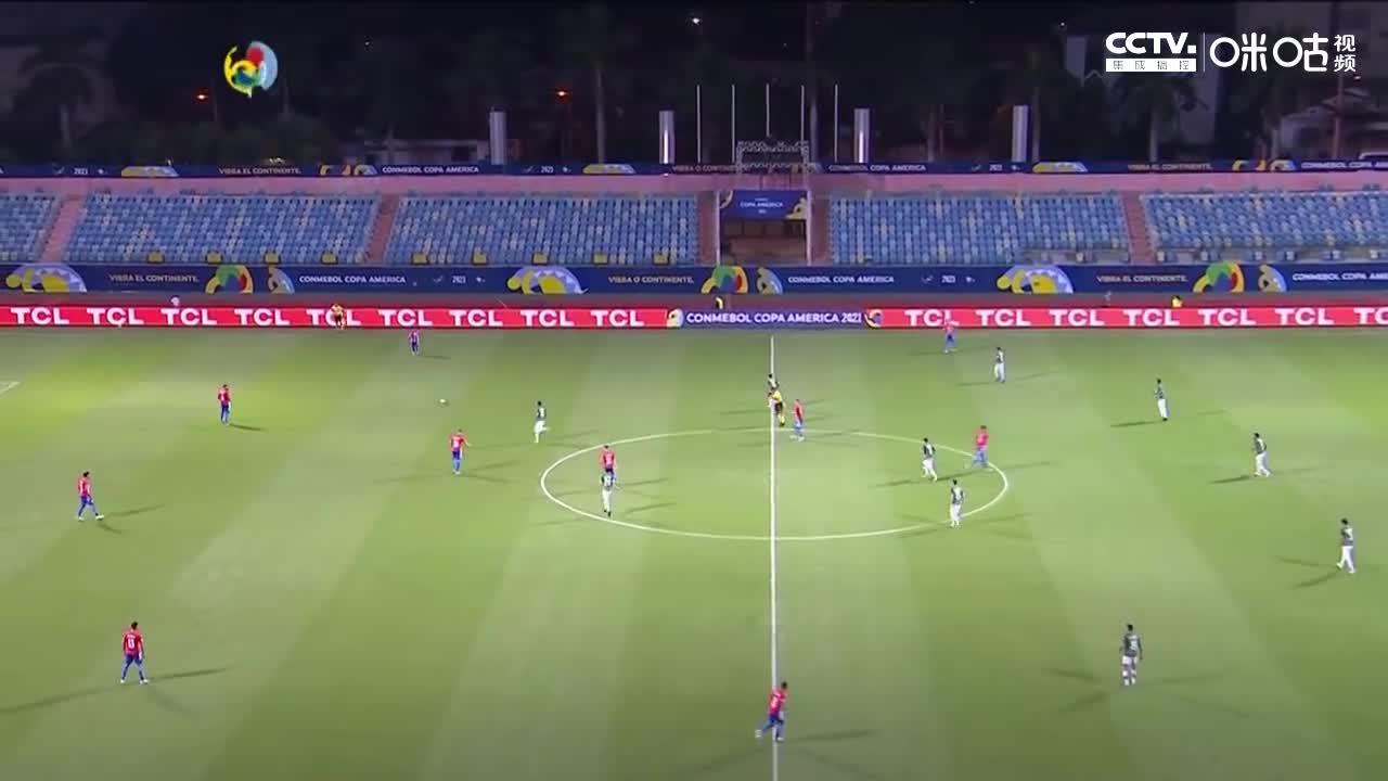 【咪咕集锦】美洲杯-罗梅罗下半场两球 巴拉圭3-1逆转玻利维亚
