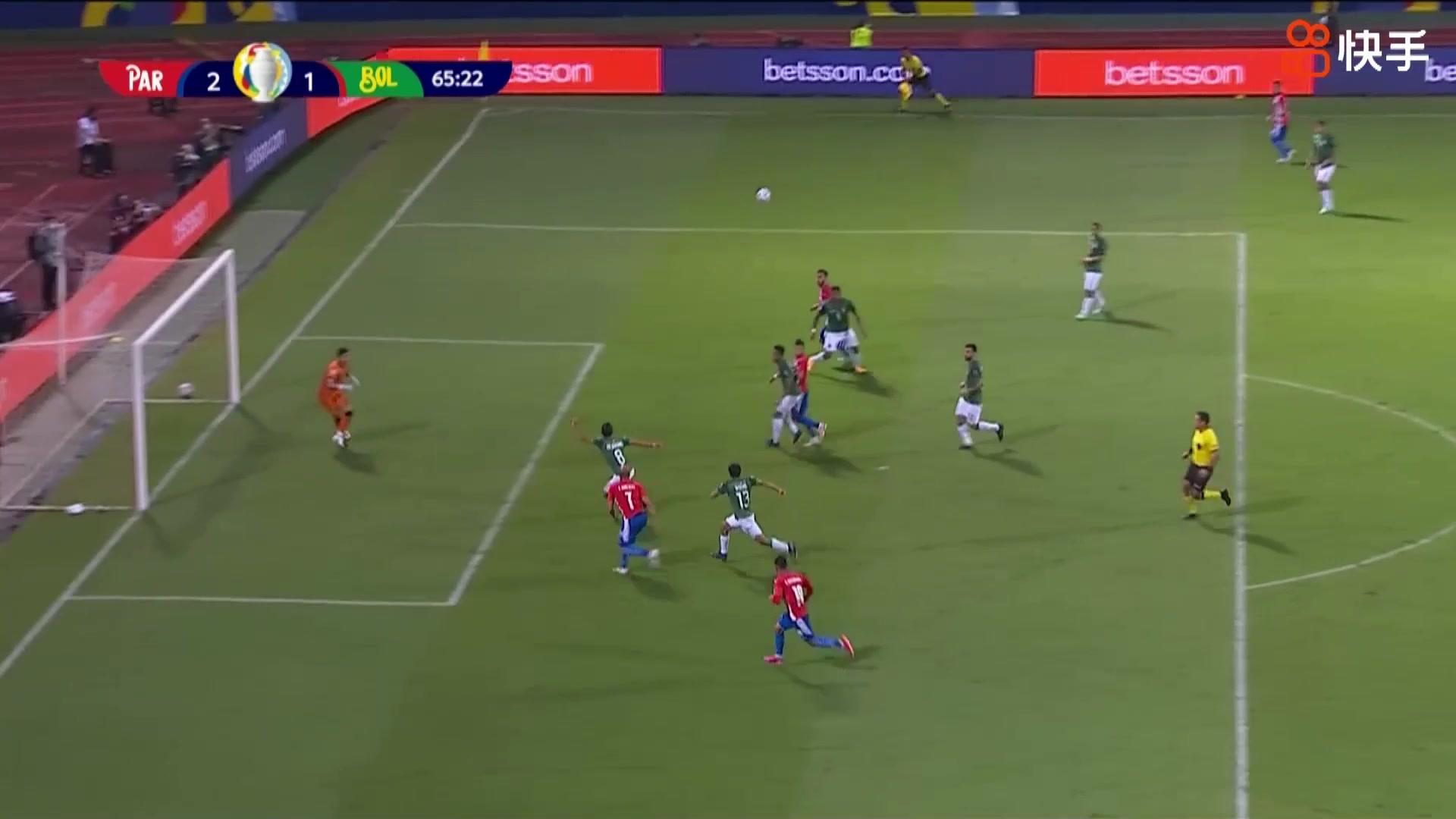 【快手集锦】美洲杯-罗梅罗下半场两球 巴拉圭3-1逆转玻利维亚
