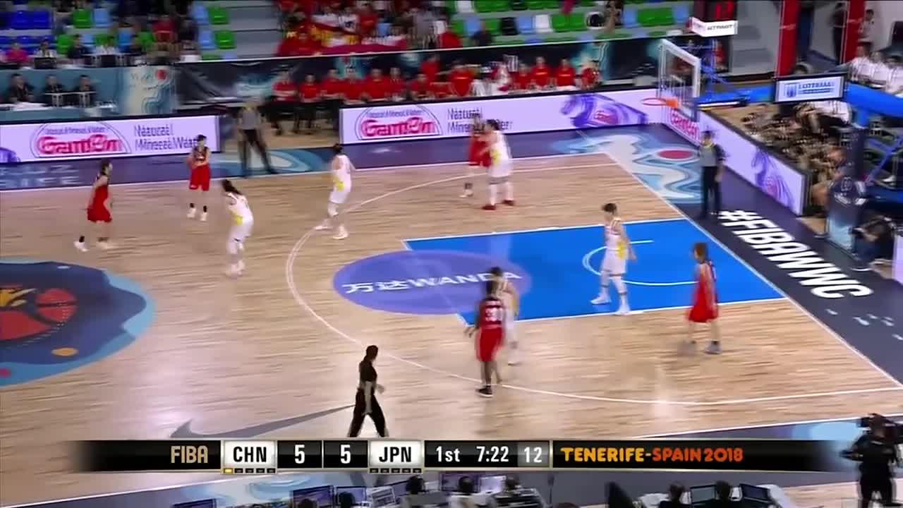 复仇之战!2018女篮世界杯中国女篮87-81淘汰日本