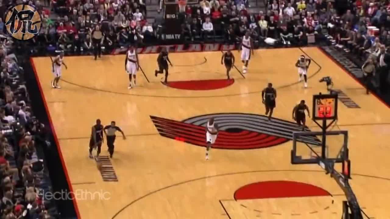 当年格里芬詹姆斯真能跳!NBA十大逆天空接暴扣