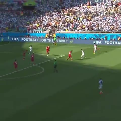 7年前的今天:梅西右路内切轰出世界波,阿根廷1-0绝杀伊朗!