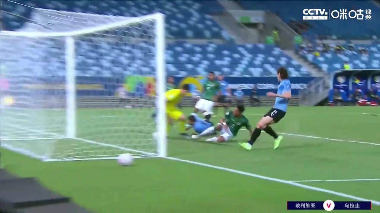 【咪咕集锦】美洲杯-卡瓦尼破门建功 乌拉圭2-0胜玻利维亚