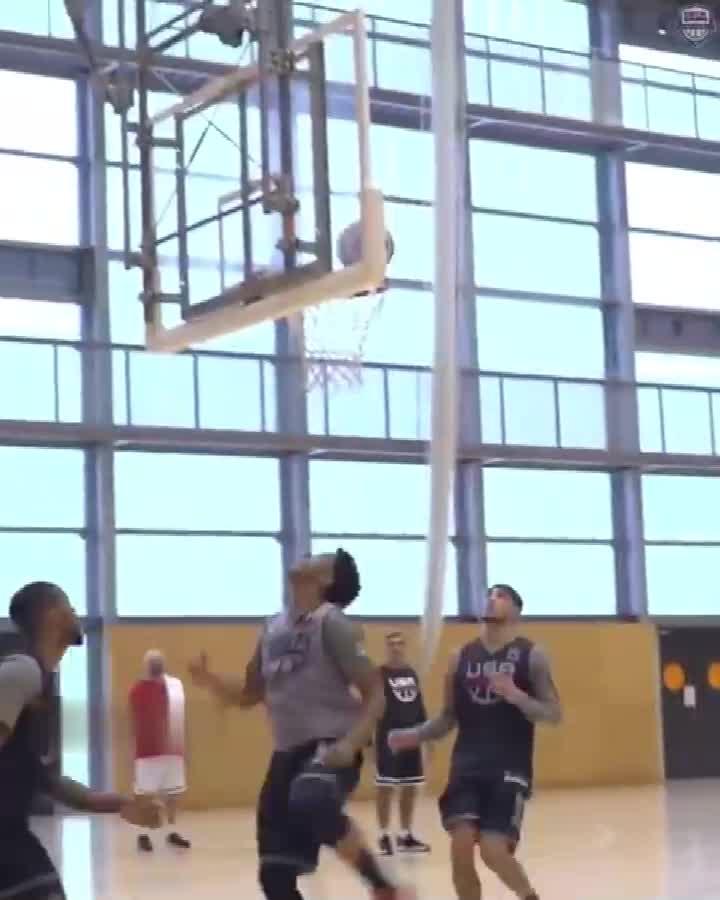 输了就回家系列!美国男篮训练视频备战与伊朗比赛