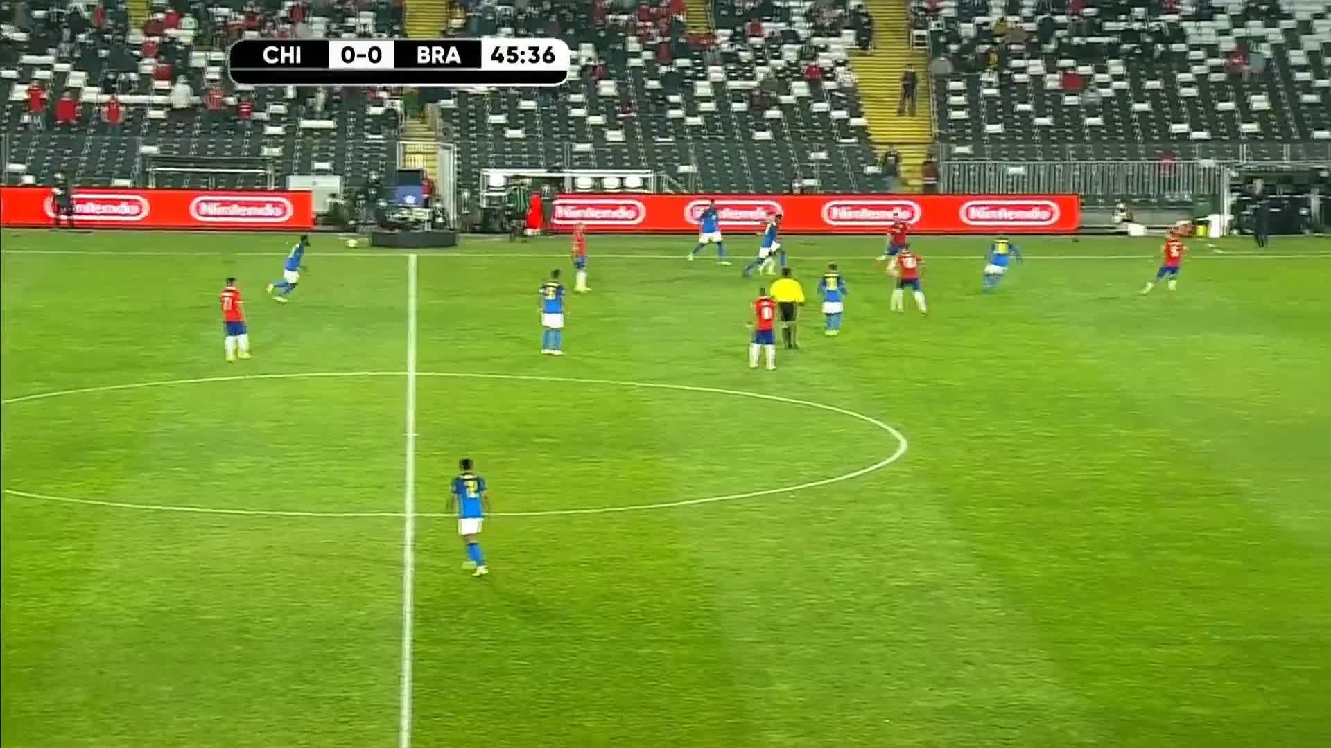 09月03日 世预赛南美区 智利vs巴西 下半场录像