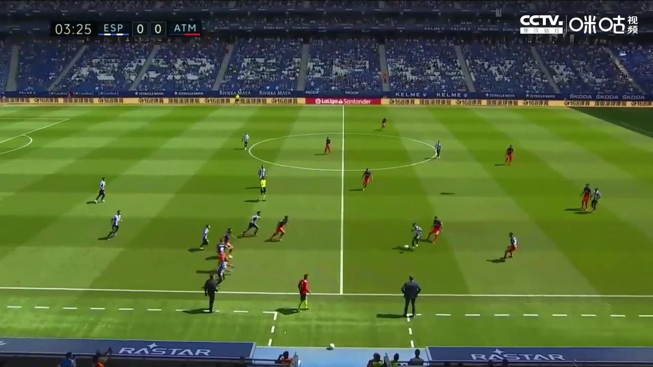 【全场集锦】西甲-卡拉斯科传射勒马尔绝杀 马竞2-1西班牙人