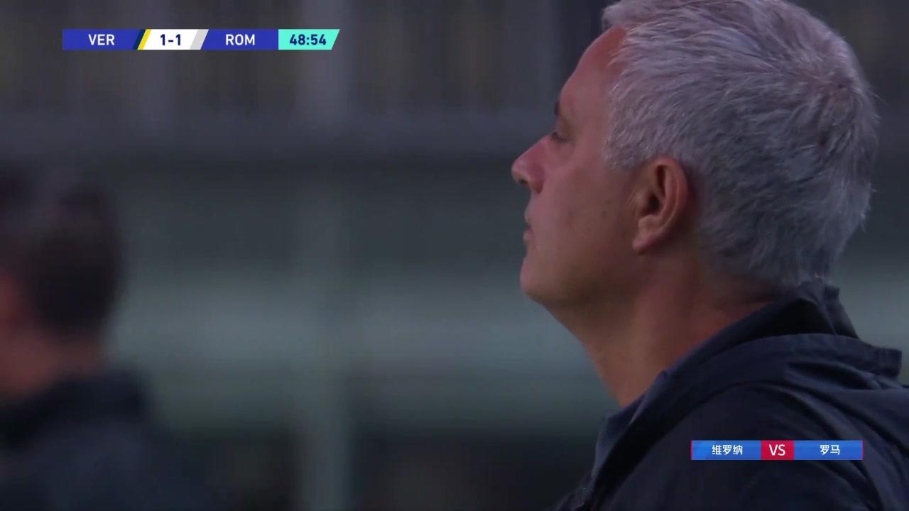 罗马防线失守!巴拉克门前补射扳平比分