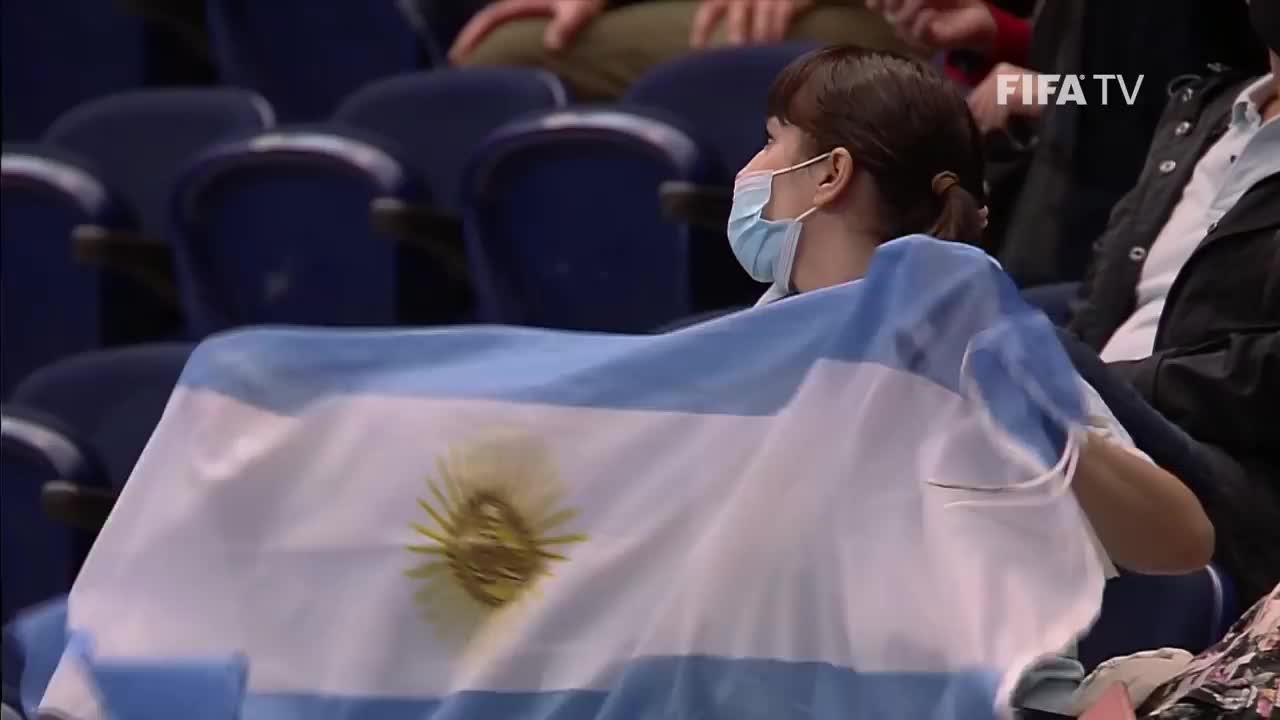 五人制世界杯-阿根廷6-1逆转巴拉圭 强势晋级8强