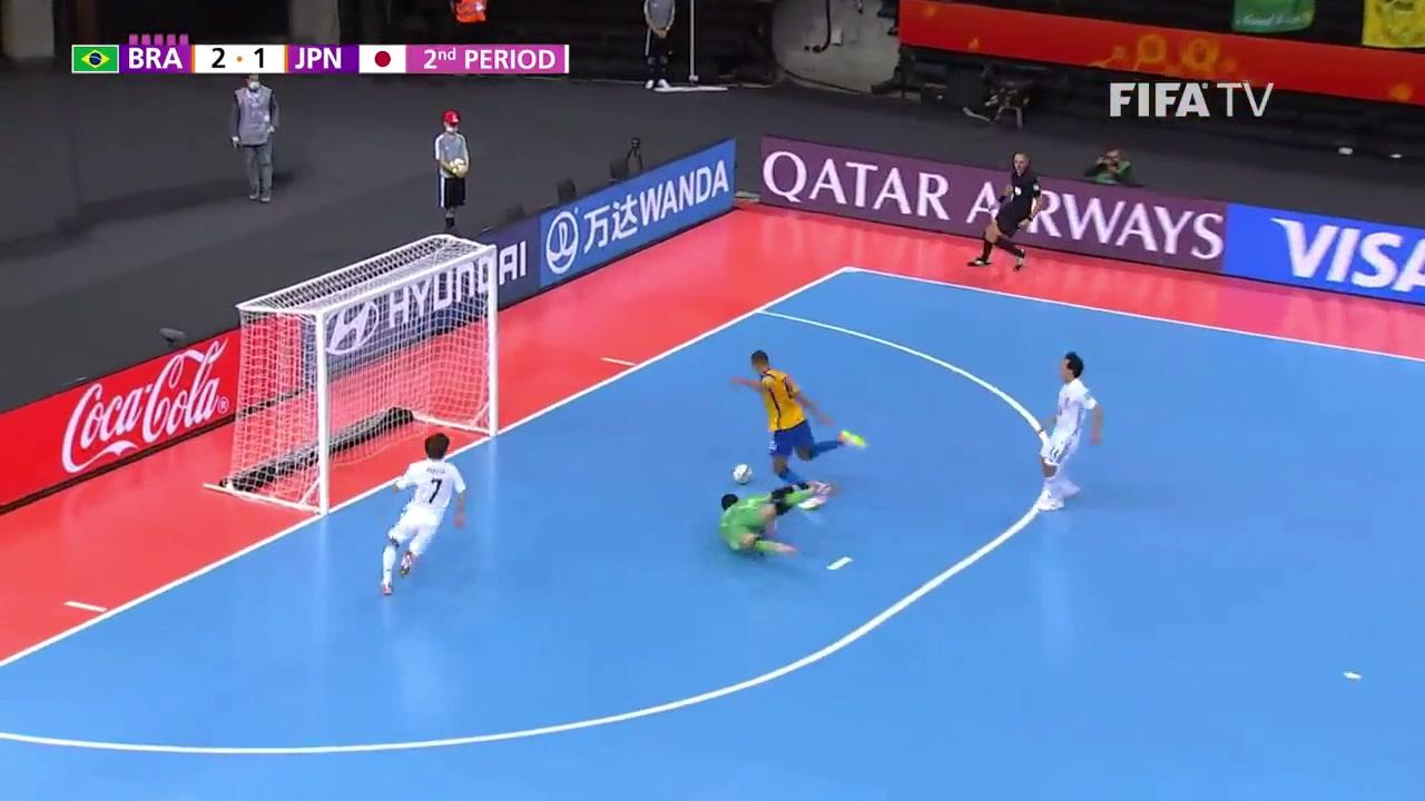 五人制世界杯-连丢3球 日本2-4遭巴西逆转