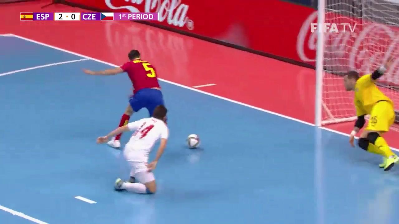 五人制世界杯-西班牙5-2大胜捷克晋级8强