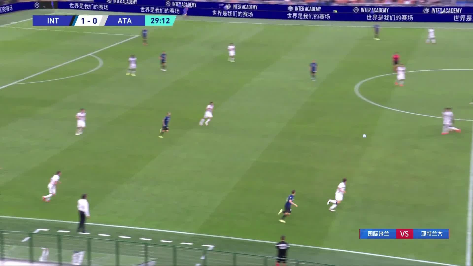 马利诺夫斯基世界波 亚特兰大1-1国米扳平比分