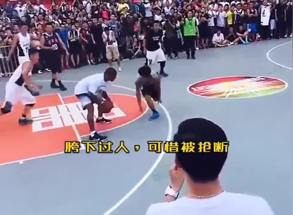火药味十足!小托马斯曾在北京大战街球手吴悠