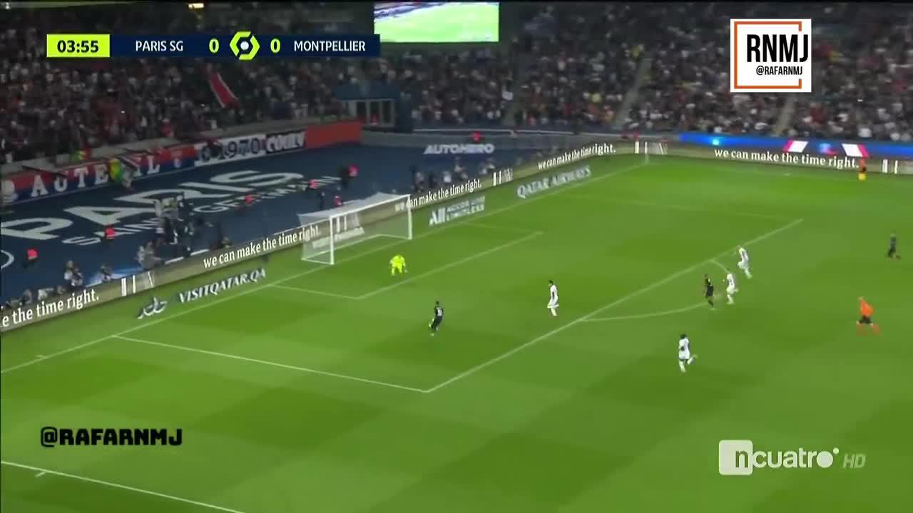西媒:内马尔这两次没传球惹恼姆巴佩