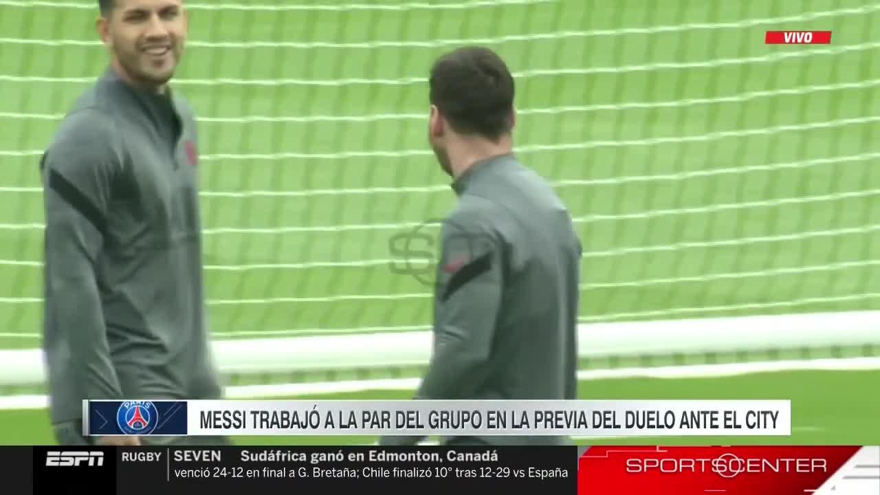 能否上场?梅西训练备战曼城