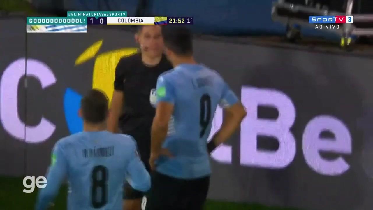【集锦】世预赛-苏亚雷斯失良机+进球被吹 乌拉圭0-0哥伦比亚