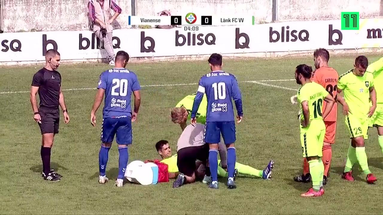 点赞!葡萄牙赛场对手受伤后放弃进攻